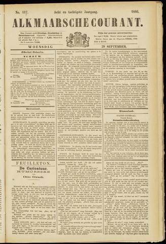 Alkmaarsche Courant 1886-09-29