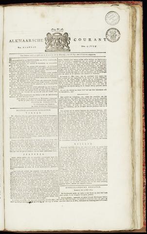 Alkmaarsche Courant 1829-07-13