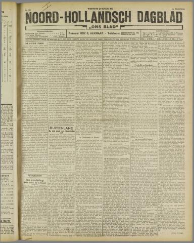 Ons Blad : katholiek nieuwsblad voor N-H 1922-01-25