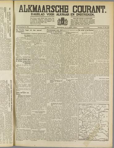 Alkmaarsche Courant 1941-07-15