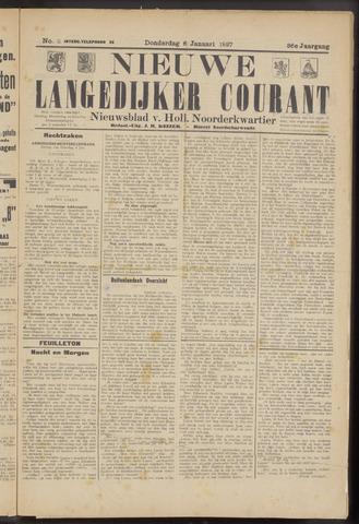 Nieuwe Langedijker Courant 1927-01-06