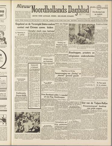Nieuw Noordhollandsch Dagblad : voor Alkmaar en omgeving 1949-04-30