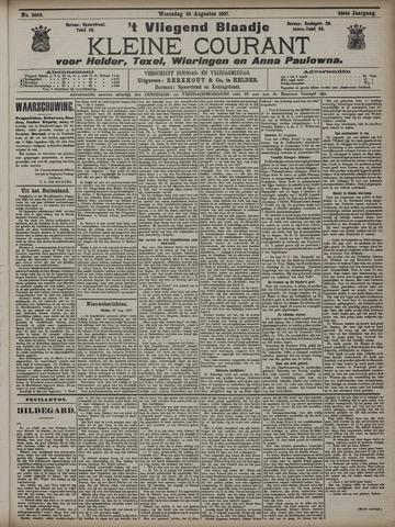 Vliegend blaadje : nieuws- en advertentiebode voor Den Helder 1907-08-28