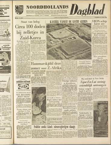 Noordhollands Dagblad : dagblad voor Alkmaar en omgeving 1960-04-20