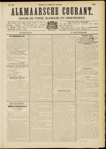 Alkmaarsche Courant 1913-09-03