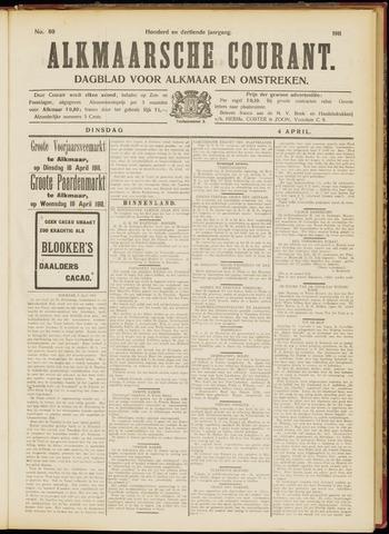 Alkmaarsche Courant 1911-04-04