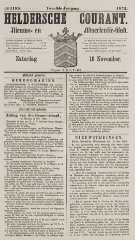 Heldersche Courant 1872-11-16