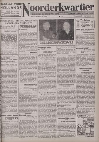 Dagblad voor Hollands Noorderkwartier 1941-11-05
