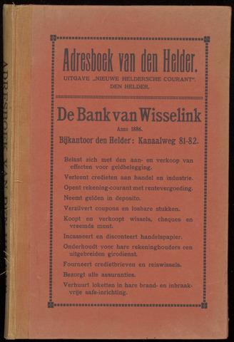 Adresboek van Den Helder 1920-01-01