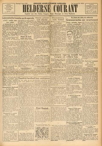 Heldersche Courant 1949-04-09