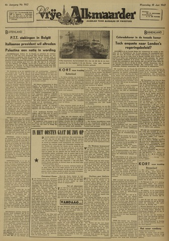 De Vrije Alkmaarder 1947-06-18
