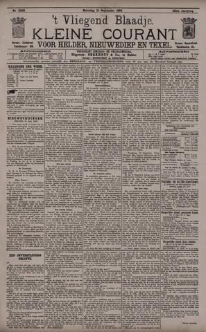 Vliegend blaadje : nieuws- en advertentiebode voor Den Helder 1895-09-21