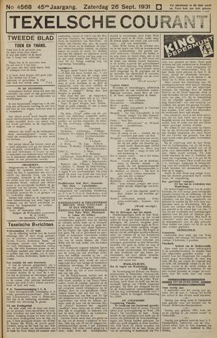 Texelsche Courant 1931-09-26