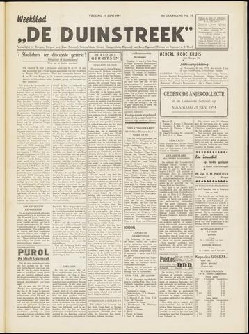 De Duinstreek 1954-06-25