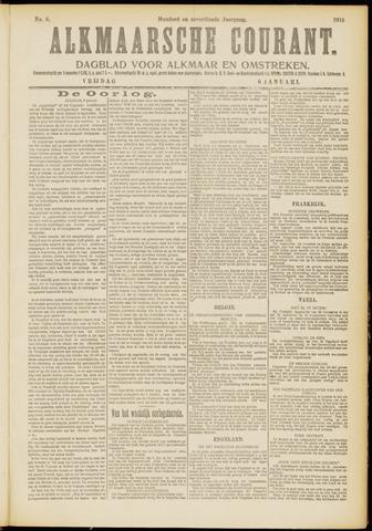 Alkmaarsche Courant 1915-01-08