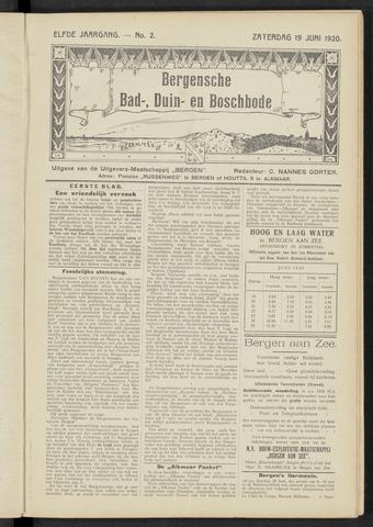 Bergensche bad-, duin- en boschbode 1920-06-19