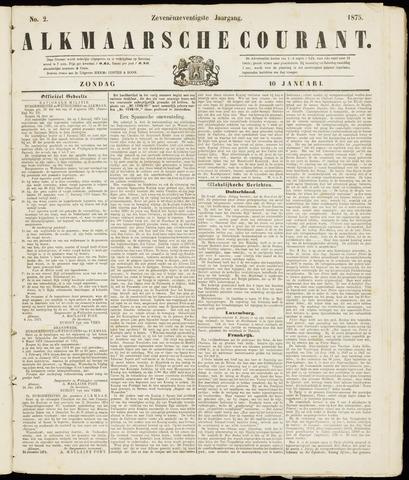 Alkmaarsche Courant 1875-01-10