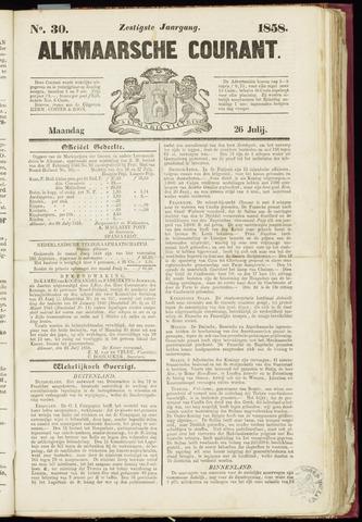 Alkmaarsche Courant 1858-07-26