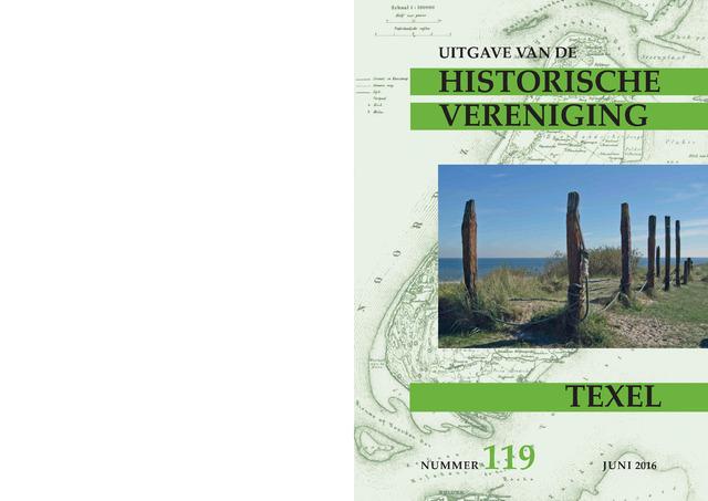 Uitgave Historische Vereniging Texel 2016-06-01