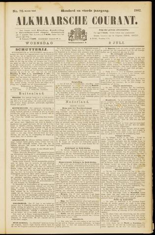 Alkmaarsche Courant 1902-07-02