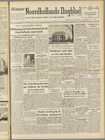 Nieuw Noordhollandsch Dagblad : voor Alkmaar en omgeving 1950-01-05