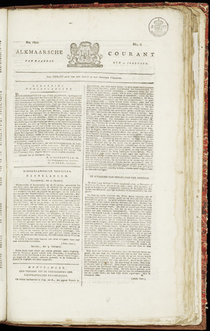 Alkmaarsche Courant 1822-02-11