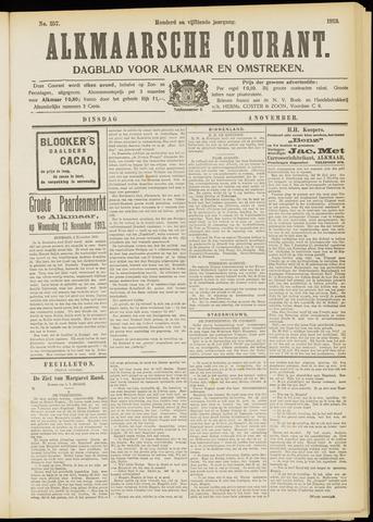 Alkmaarsche Courant 1913-11-04