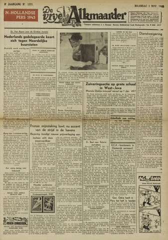 De Vrije Alkmaarder 1948-11-01