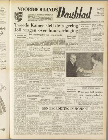 Noordhollands Dagblad : dagblad voor Alkmaar en omgeving 1953-04-21