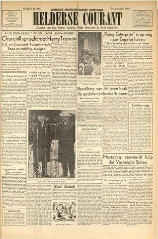 Heldersche Courant 1952-01-07