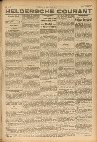 Heldersche Courant 1924-09-11