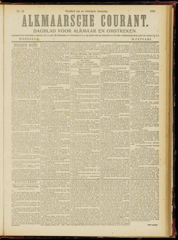 Alkmaarsche Courant 1919-01-15