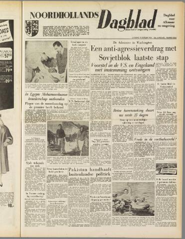 Noordhollands Dagblad : dagblad voor Alkmaar en omgeving 1954-10-30