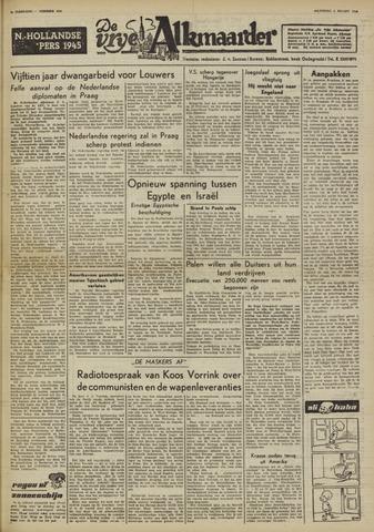 De Vrije Alkmaarder 1950-03-06
