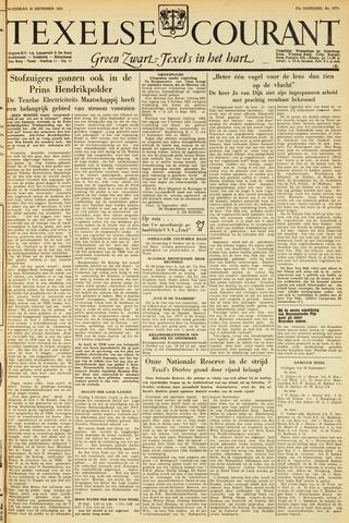 Texelsche Courant 1953-09-30