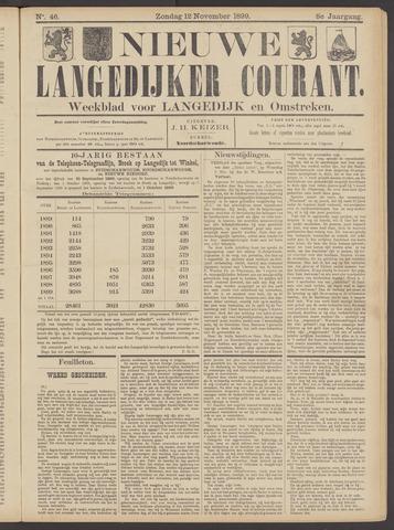 Nieuwe Langedijker Courant 1899-11-12