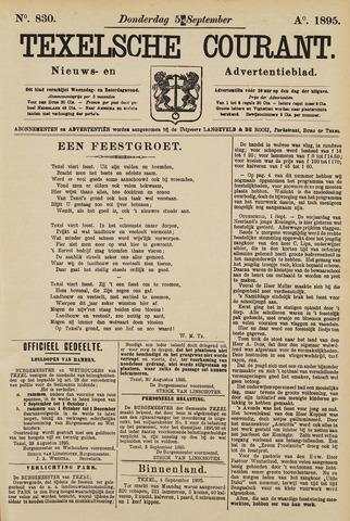 Texelsche Courant 1895-09-05