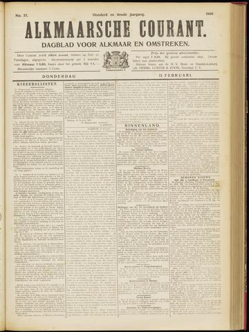 Alkmaarsche Courant 1908-02-13
