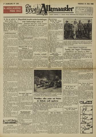 De Vrije Alkmaarder 1948-07-23