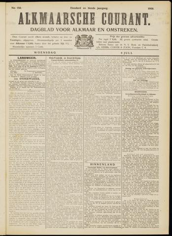 Alkmaarsche Courant 1908-07-08