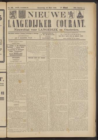 Nieuwe Langedijker Courant 1923-05-19