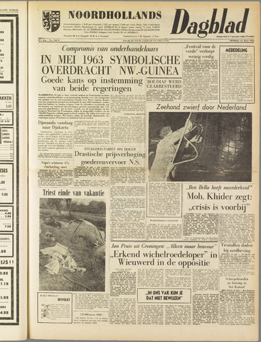 Noordhollands Dagblad : dagblad voor Alkmaar en omgeving 1962-07-31