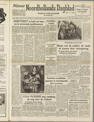 Nieuw Noordhollandsch Dagblad : voor Alkmaar en omgeving 1951-12-27