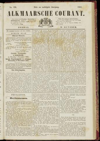 Alkmaarsche Courant 1881-10-23