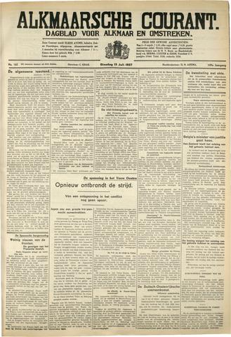 Alkmaarsche Courant 1937-07-13