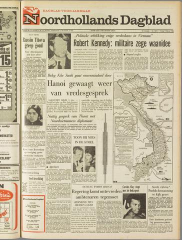 Noordhollands Dagblad : dagblad voor Alkmaar en omgeving 1968-02-09