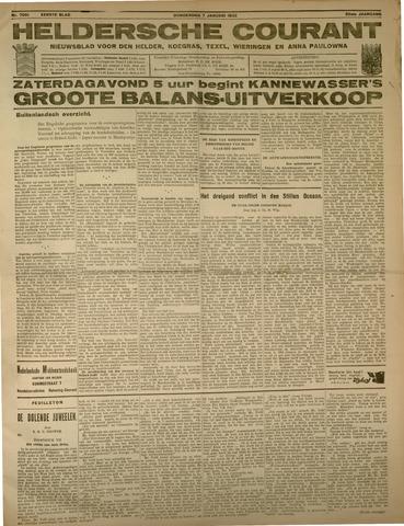 Heldersche Courant 1932-01-07