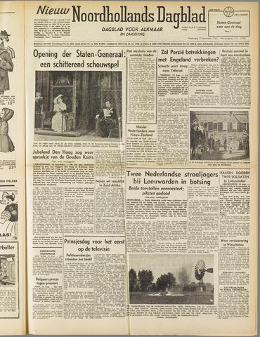 Nieuw Noordhollandsch Dagblad : voor Alkmaar en omgeving 1952-09-17