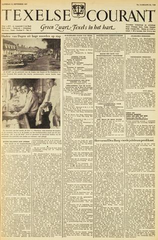 Texelsche Courant 1957-09-21
