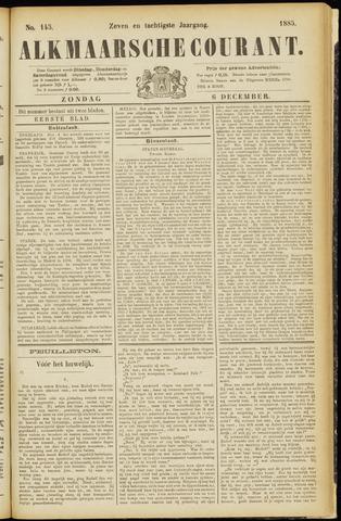Alkmaarsche Courant 1885-12-06